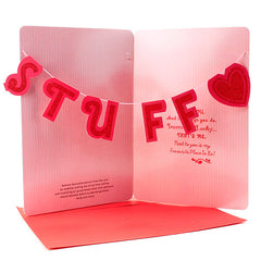 Sweet Stuff Love Greeting Card