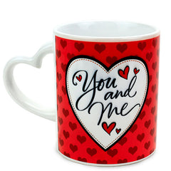 Stylish You And Me Mug