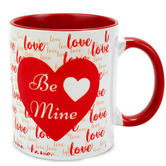 Send valentine's day mugs for him in India