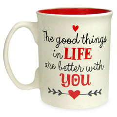 Life Is Perfect With You Mug