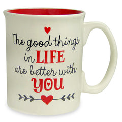 Send valentines day coffee mugs by Hallmark India