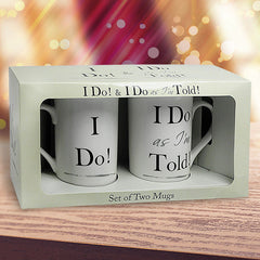 I Do As I'M Told ! Mug Set