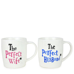 Lovely Wife & Husband Mug Set