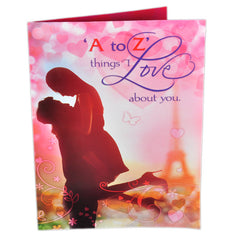 A to Z Things Love Greeting Cards
