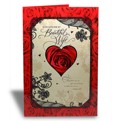 valentines day greetings for wife by Hallmark India