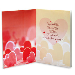 You & Me Love Greeting Card