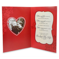You`Ve Touched My Heart Jumbo Card
