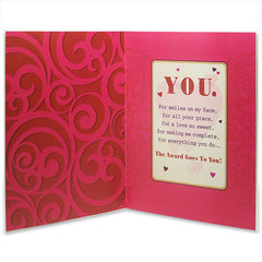 Wife Award Love Greeting Card