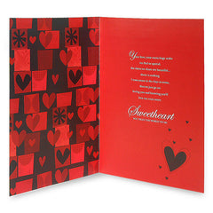 You Mean The World To Me Love Greeting Card