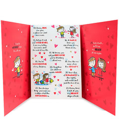 50 Reasons Love Card