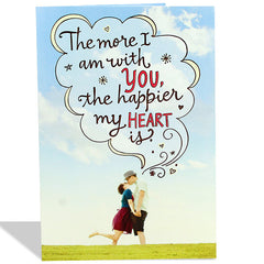 Shop romantic greeting cards in India