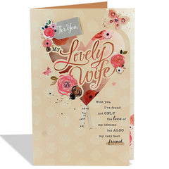 Shop love cards for her in India