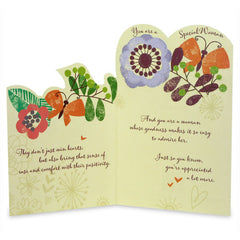 Charming Women`S Day Greeting Card