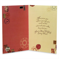 Woman With Grace Greeting Card