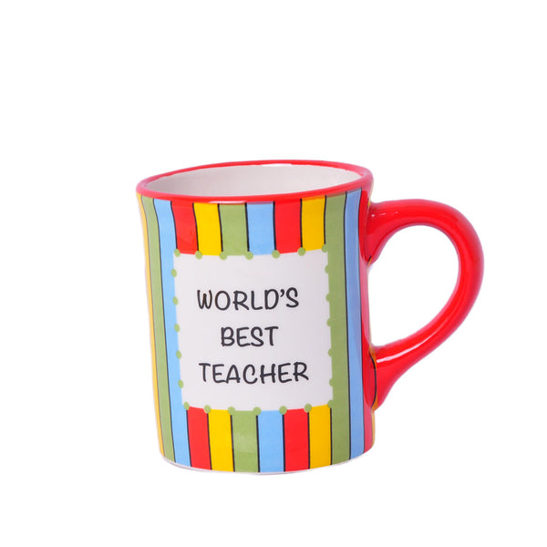 Mug For Worlds Best Teacher