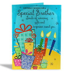 birthday cards for brother