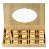 Sweet Chocolates In Wooden Box