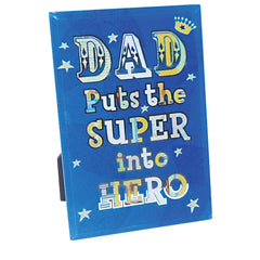 Dad, My Superhero