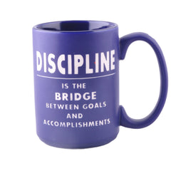 Motivational Mug: Discipline