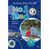 Personalised Card For No 1 Dad