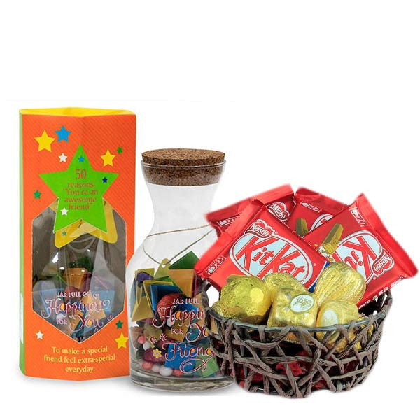 Delicious Hamper For FriendShip Day