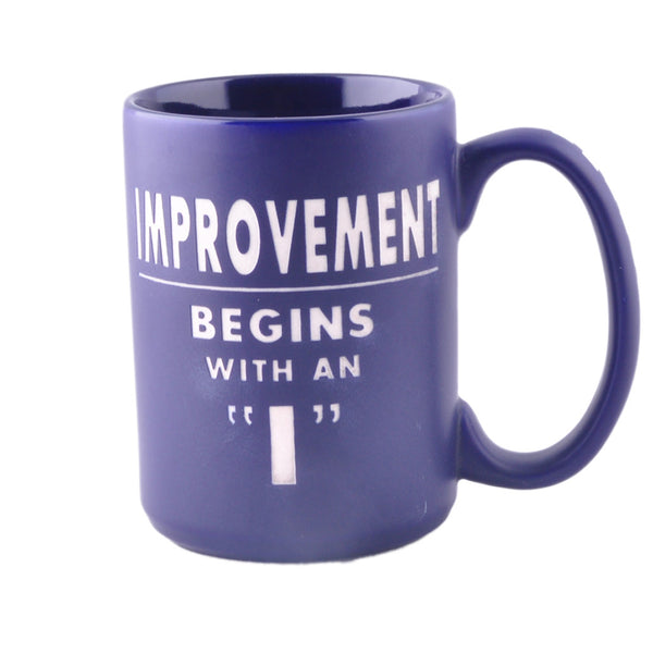 Motivational Mug:Improvement