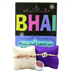 gift hamper of rakhi