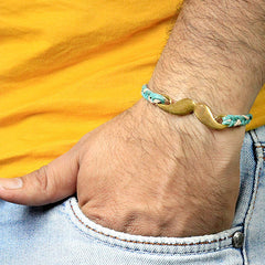 Moustache Braided Rakhi