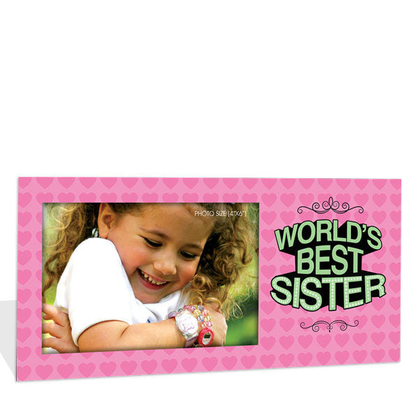Frame for worlds best sister