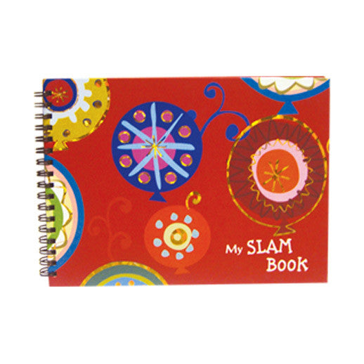 Colorful Slam Book