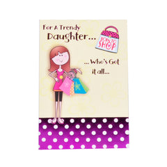 Best Daughter - Greeting Card