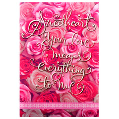 Lovely greeting cards for sweetheart