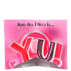 NEED is love greeting cards