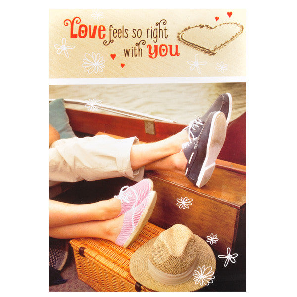 Love Feels You Greeting Cards