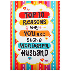 Wonderful Husband Greeting cards