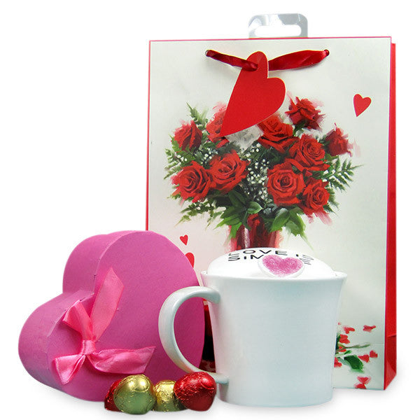 Stylish Mug & Greeting Card Hamper