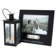Photo Frame With Lantern