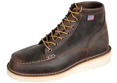 Brown Bull Run Moc Toe ST 6 Inch