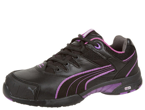 Womens Black Pink Stepper
