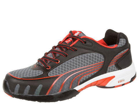 Womens Black Red Fuse Motion