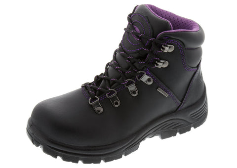 Black Purple Wmns 6 Inch ST WP EH