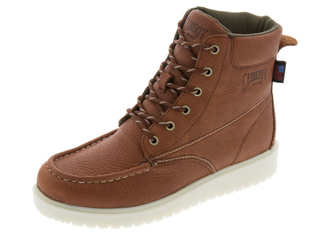 Russet Gary 6 Inch Moc Toe Wedge Boot