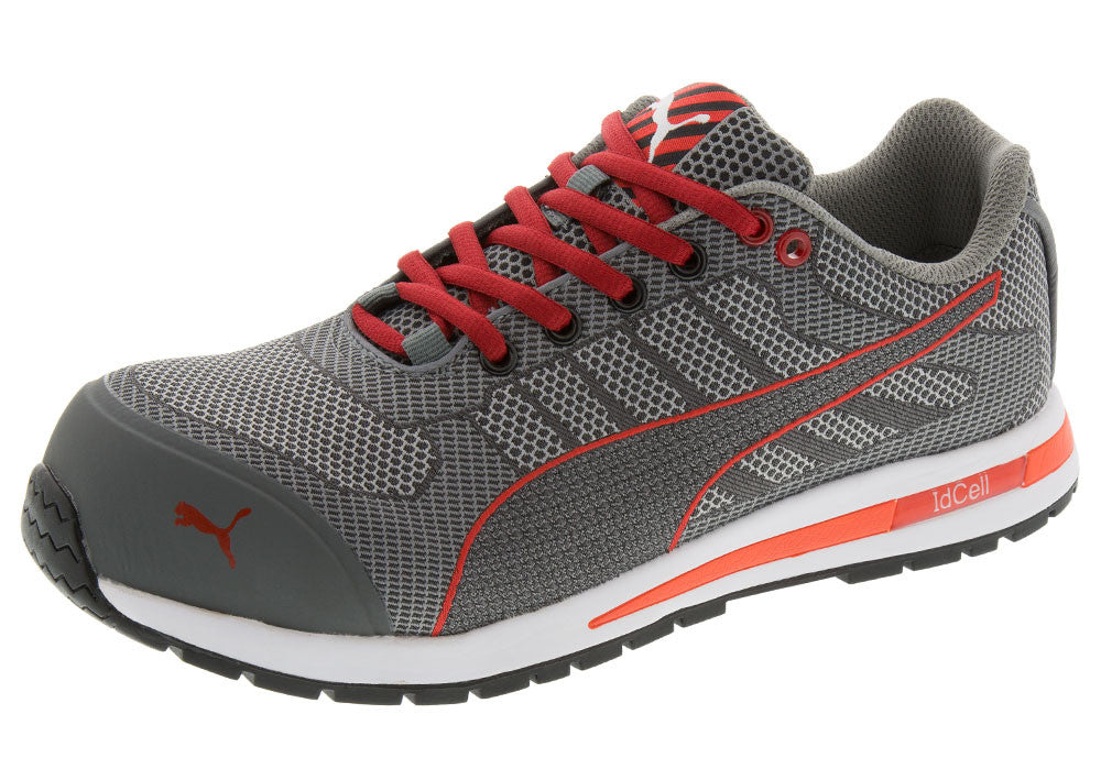 3a8f25456a65ce   Men s Puma Safety Shoes · Grey White Red Xelerate Knit Low CT EH  Grey  White Red Xelerate Knit Low CT EH ...