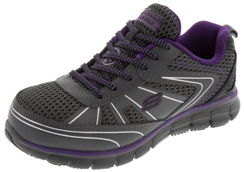 Charcoal Purple Womens Synergy Algonac AT