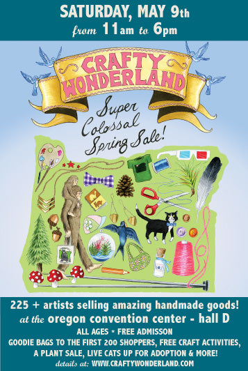 portland crafty wonderland crafts diy handmade