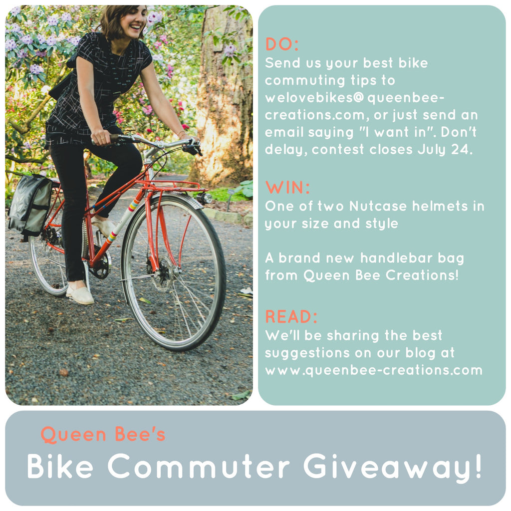 queen bee bike commuter giveaway