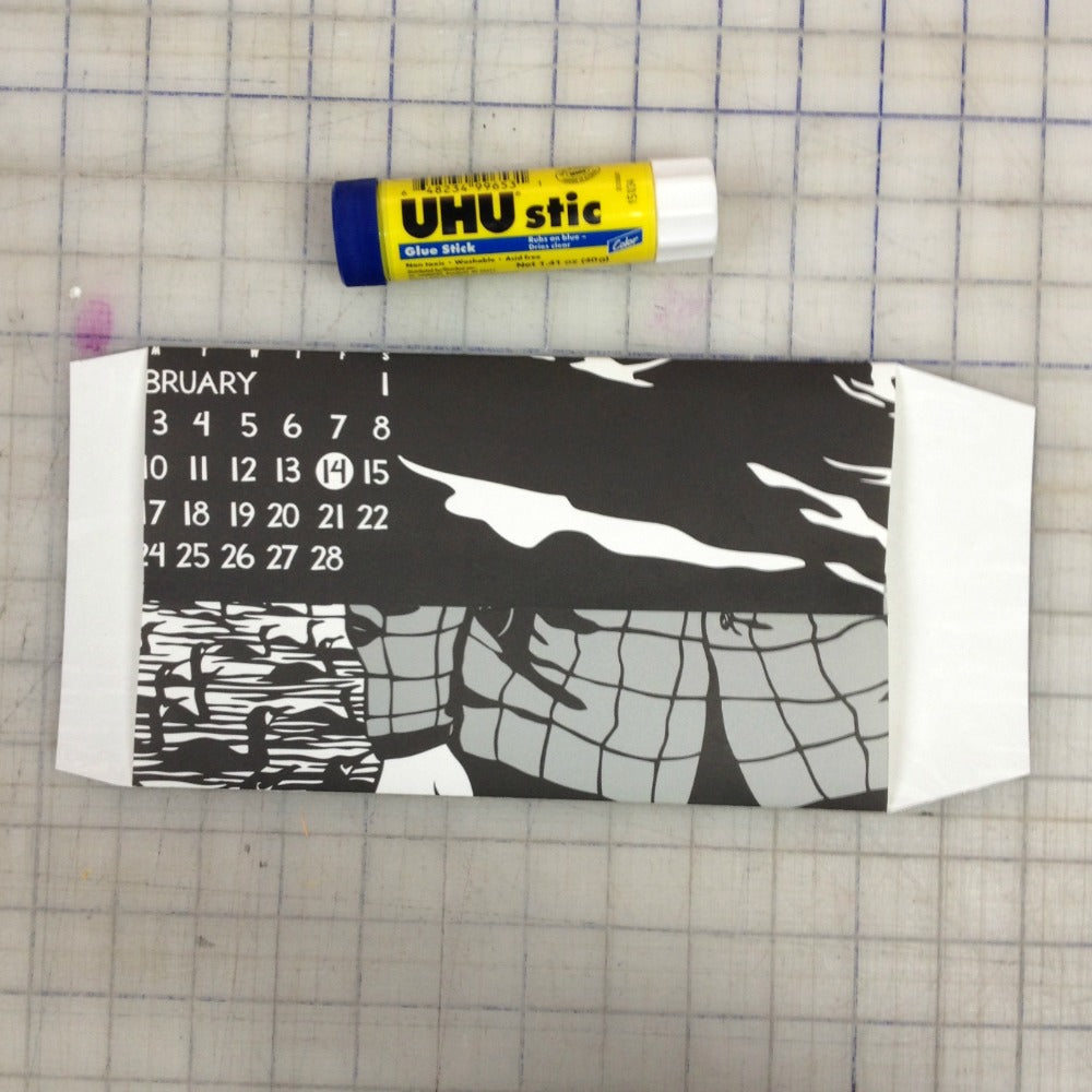 nikki mcclure calendar diy upcycle paper envelope project