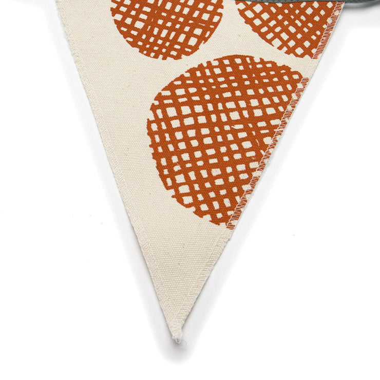 Printed Canvas Bunting Banner