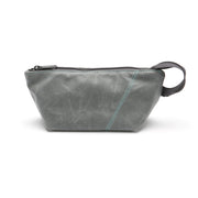 Loop Pouch - Charcoal Waxed Canvas