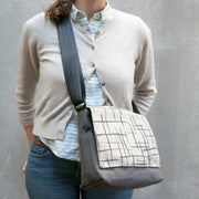 Canvas Truckette Messenger Bag - 'Saturday Special Flaps'